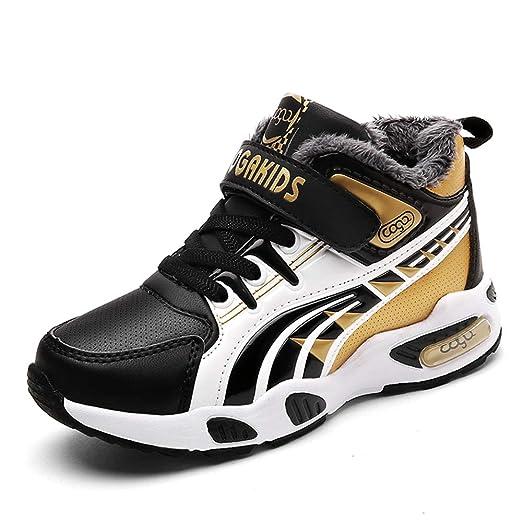 Zapatillas de Baloncesto para niños, para Invierno, antiesquí ...