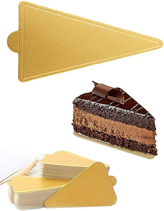 "100pcs 3.3/""x3.6/"" Square Decorative Cardboard Cake Cupcake Boards Chosen Color"