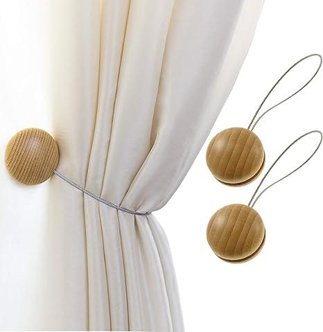 Metal Cat Curtain Magnetic Clip Window Drape Tie Backs Curtain Holder