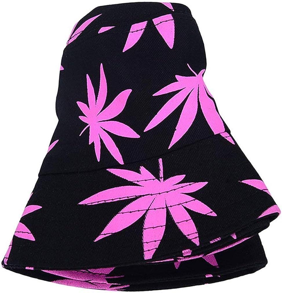 vw Unisex Buschhut Sonnenhut Bucket Hat Fischerhut Cannabis Muster M/ütze Sommer Outdoor Fischerm/ütze