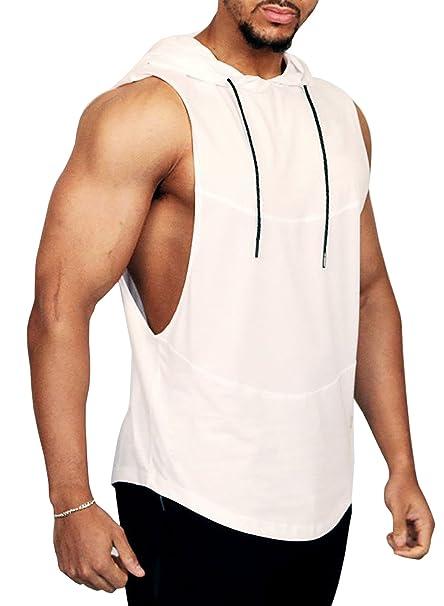 48077267c5d01 Amazon.com  PAIZH Men s Workout Sleeveless Shirt See Through Pattern ...