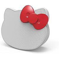 eKids Hello Kitty Portable Bluetooth Speaker (White/Red)