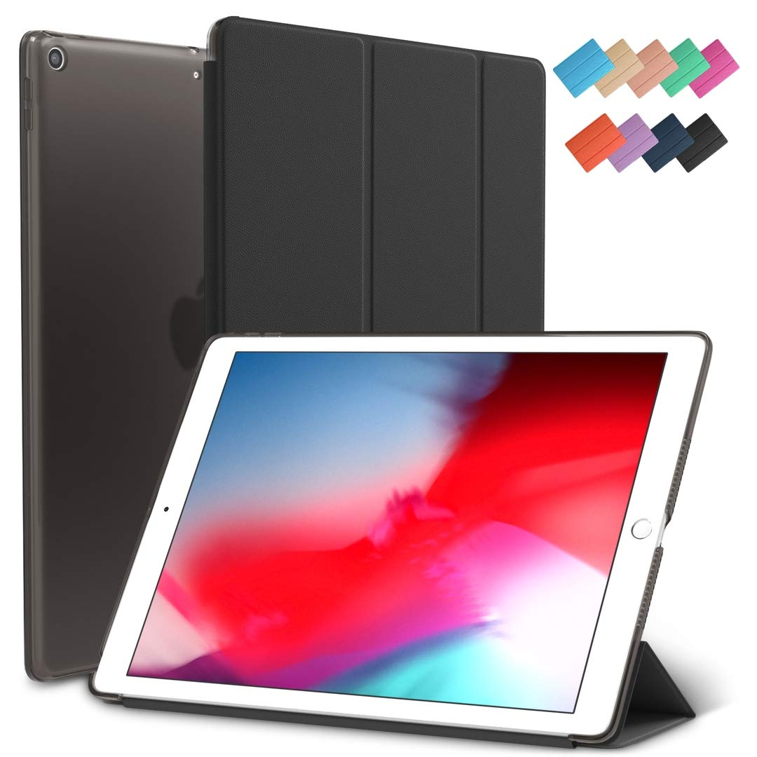 登場! iPad 5ケース Mini 5ケース スカイスリムフィット スマートラバーフォリオ 19B01 ハード半透明つや消しカバー 軽量 B07PYJZ5QJ ウェイクスリープ Apple iPad Mini 第5世代 2019モデル A2133 A2124 A2126 7.9インチディスプレイ用 19B01 ブラック B07PYJZ5QJ, アサヒシューズ直営店:48978dfd --- a0267596.xsph.ru