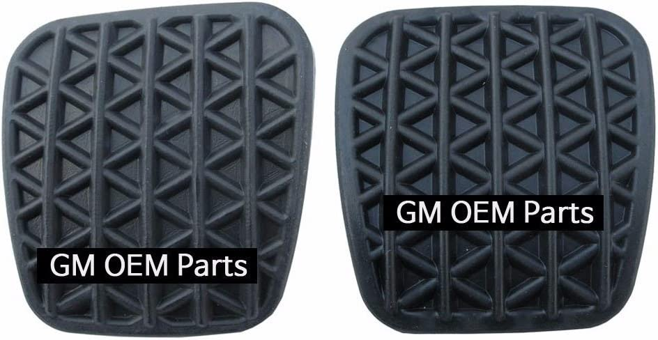 OEM Parts Chevrolet Brake+Clutch Pedal Pad Rubber for M//T for GM Cruze 2008