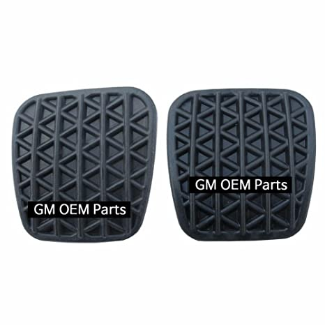 Amazon.com: Brake+Clutch Pedal Pad Rubber for M/T For GM Chevrolet Cruze 2008+ OEM Parts: Automotive