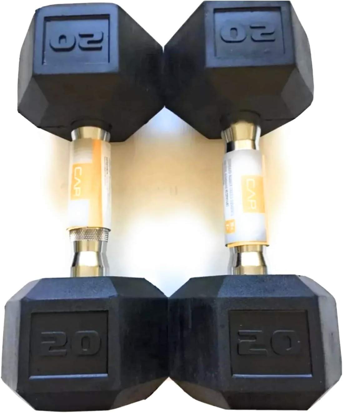 Cast Iron Hex Dumbbells 50 lb total IMMEDIATE SHIP CAP 25LB PAIR NEW