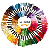 Embroidery Line Cross Stitch Embroidery Thread Floss Home Sewing Supplies (50pcs)
