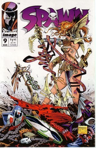 Spawn #9 First Appearance of Neil Gaiman's Angela ()