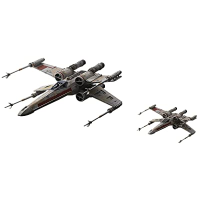 Bandai Hobby Star Wars 1/72 X-Wing Red Squadron (Special Set), Multicolor: Toys & Games