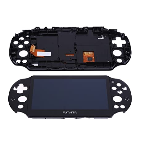 Brand New LCD Screen Display With Touch Screen Digitizer for PS Vita 2000  PSV 2 By HongLei