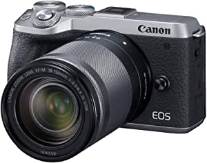 Canon EOS M6 Mark II KIT W/EF M18-150mm (Silver)
