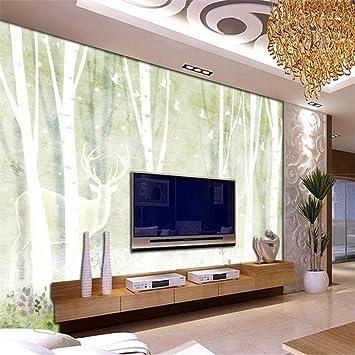 YUANLINGWEI Papel Tapiz Mural Personalizado Papel Tapiz Moderno 3D ...