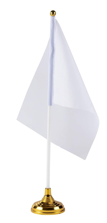 Banderas de escritorio en blanco - 24 piezas banderas de ...