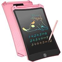 NJesBaa Tableta de Escritura LCD, 8,5 Pulgadas Colorido Dibujo Gráficos Electrónicos Pad Doodle Escritura Tablero…