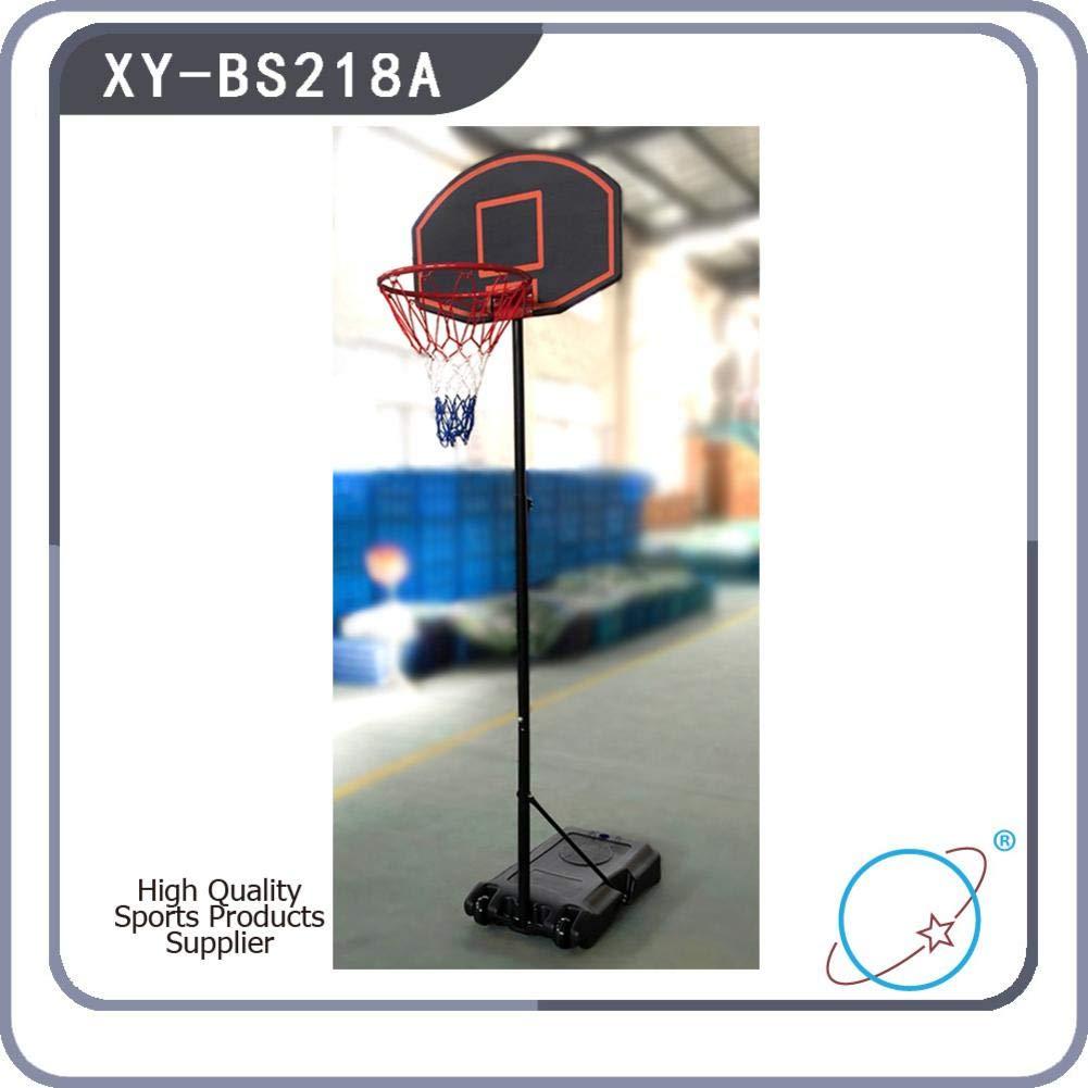 Bulary Black & Red Portable Removable Adjustable Teenager Basketball Rack by Bulary (Image #8)