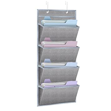 office door mail holder. Hanging Wall Organizer,HENGSHENG Mount /Over The Door Office Supplies Storage Mail Organizer Holder L