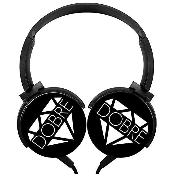 Amazoncom Dobre Brothers Logo Wired Headset Lightweight Stereo