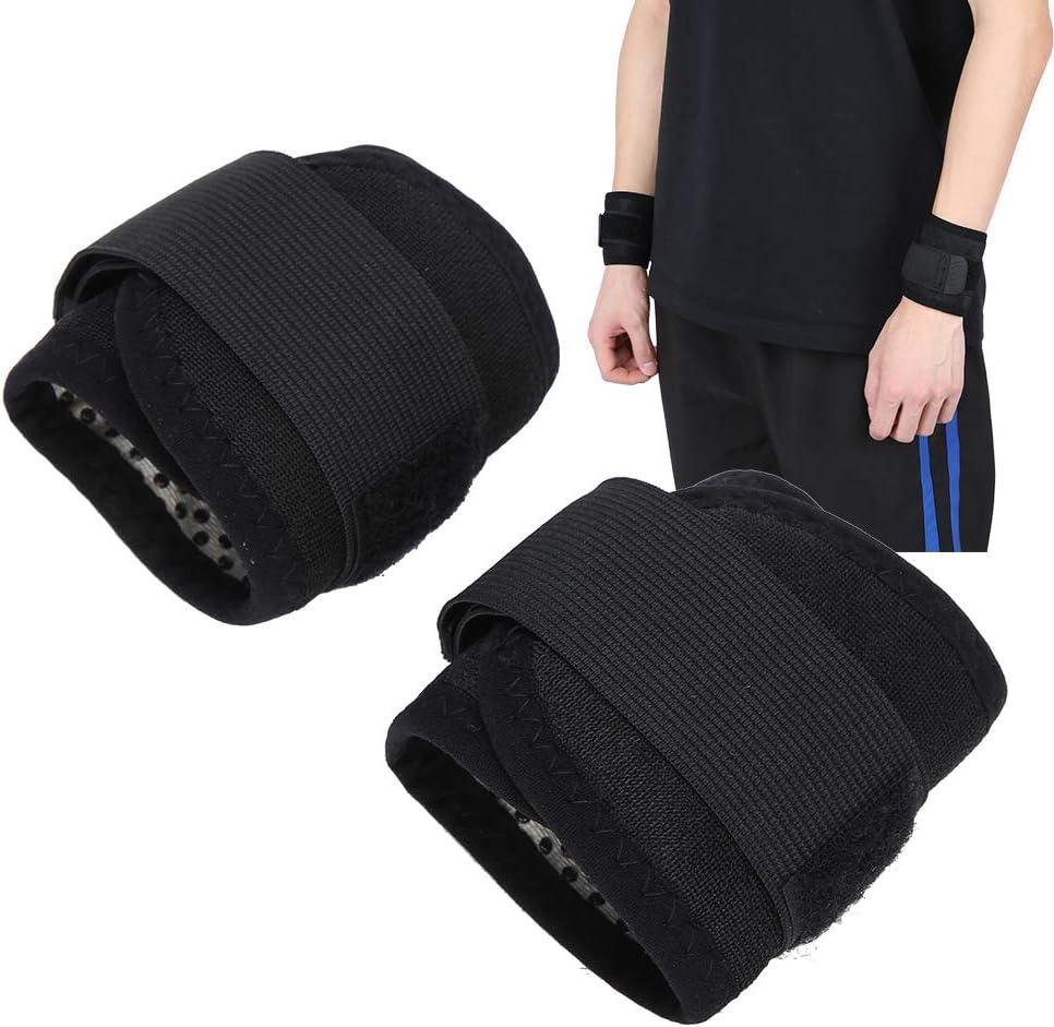 Tendinitis 2pcs Tourmaline Self Heating Wrist Wraps Sports Protection Wrist Support Brace for Rheumatoid Arthritis Carpal Tunnel Pain