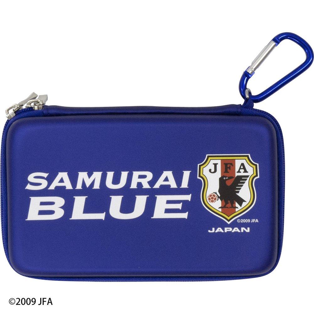 Nintendo 3DS LL Samurai Japan Blue - Soccer Japanese National Team Model Semi Hard Case