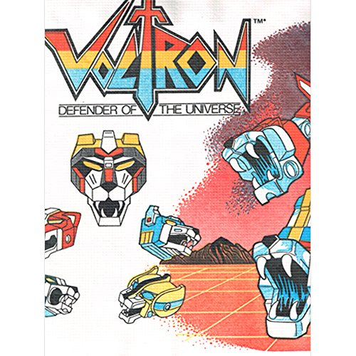 Voltron Vintage Paper Table Cover (1ct)