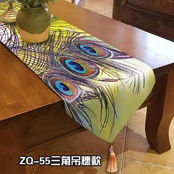 Regalo de lujo Extended, decoracion, mueble para dormitorio mantel bandera Hotel Bed la cama toalla,32 * 180 cm: Amazon.es: Hogar