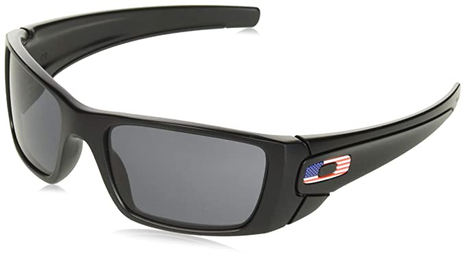 4f3759b4de2 Image Unavailable. Image not available for. Color  Oakley Men s Fuel Cell  Rectangular Sunglasses ...