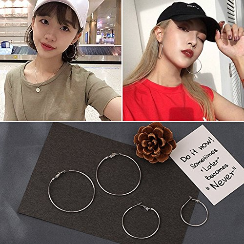 Especially long section of the trend of the ancient arena nice simple girl home hip-hop producer earrings cheap earrings Ja and South Korea
