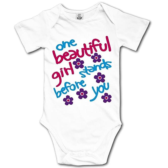 Amazon.com: ssnb Unisex Baby Onesies único de una hermosa ...
