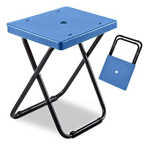 Swell Ncone Portable Folding Stool Chair Heavy Duty Lightweight Easy Carry 330 Lb Capacity 15 Inch Height Metal And Plastic Foldable Stool For Adults Heavy Spiritservingveterans Wood Chair Design Ideas Spiritservingveteransorg
