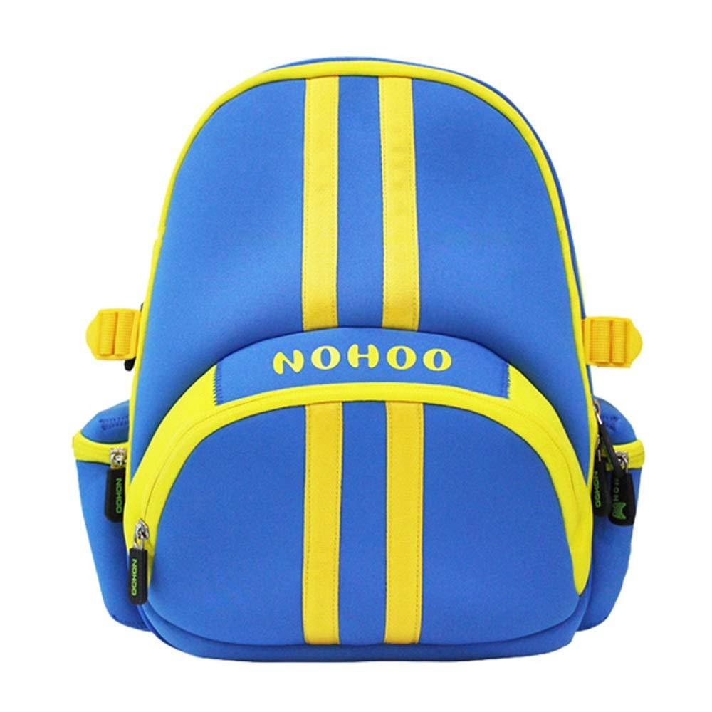 男の子と女の子の幼稚園のバッグ、撥水通気性の布、子供の外出夏のキャンプの小さなバックパック (色 : 青) B07HRNV8TP 青