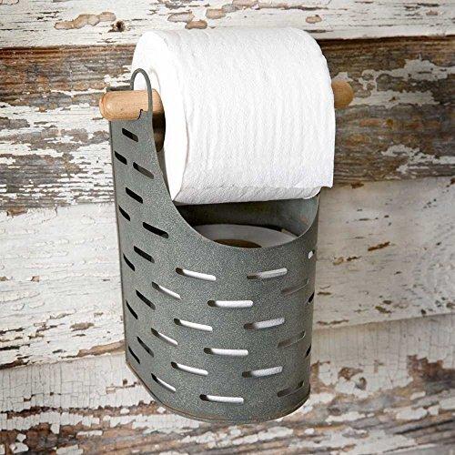 - Olive Bucket Toilet Paper Holder