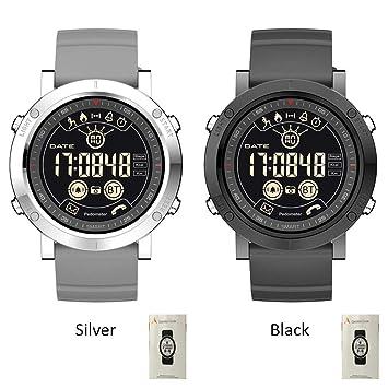 Montre Connectée,Willful étanche 50M Bracelet Connecté Bluetooth Fitness Tracker dActivité Montre Cardio