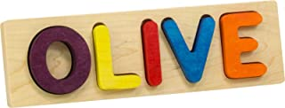 product image for Name Puzzle, Bright Colors - 5 Letters - Made in USA