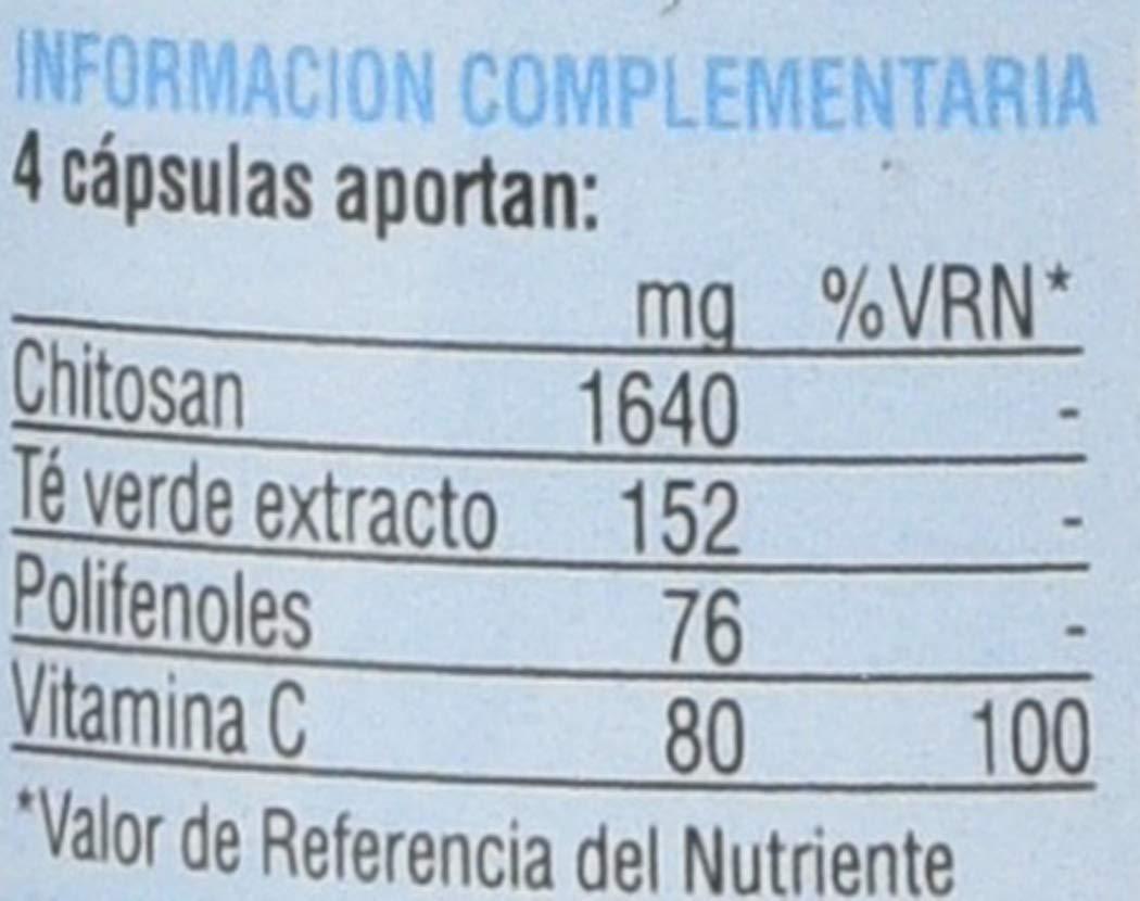 SOTYA - SOTYA Chitosán + Té verde + Vitamina C 100 cápsulas 600mg: Amazon.es: Salud y cuidado personal