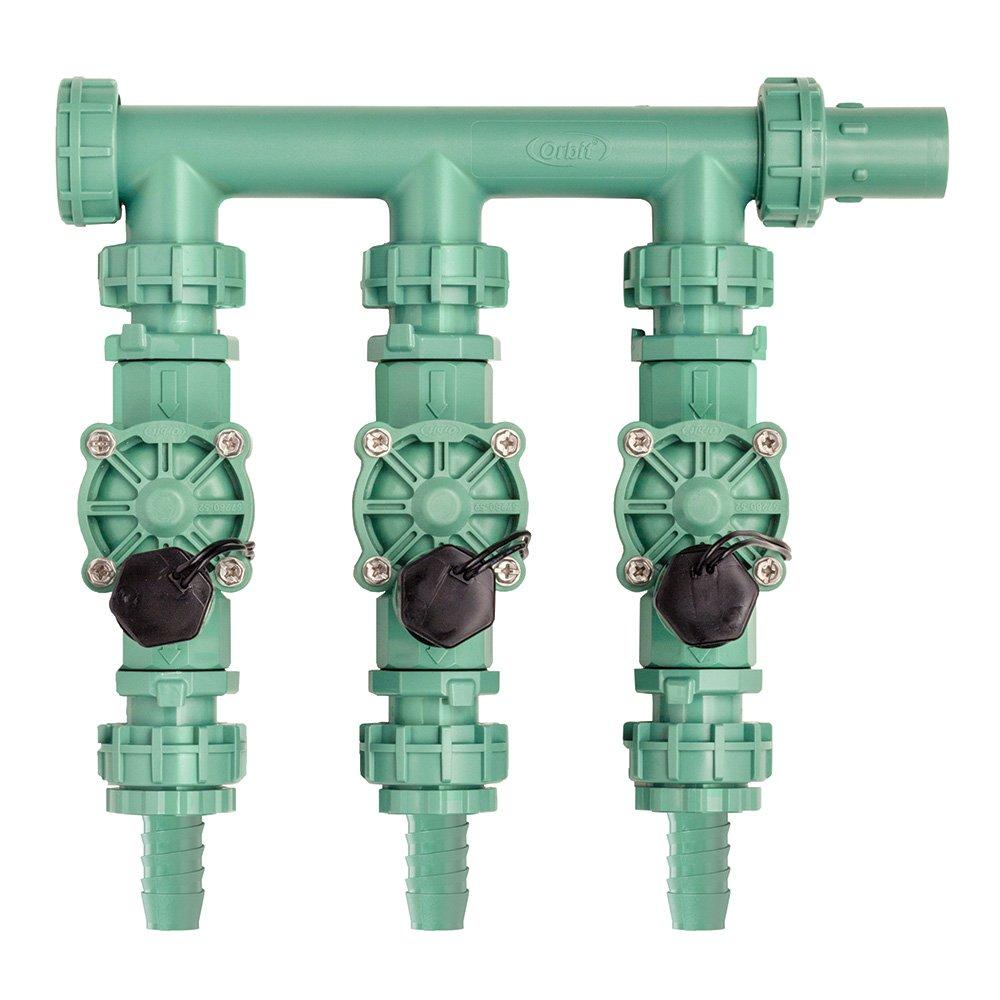 2 Pack - Orbit Irrigation Valve Manifold System - 3 Valves by Orbit