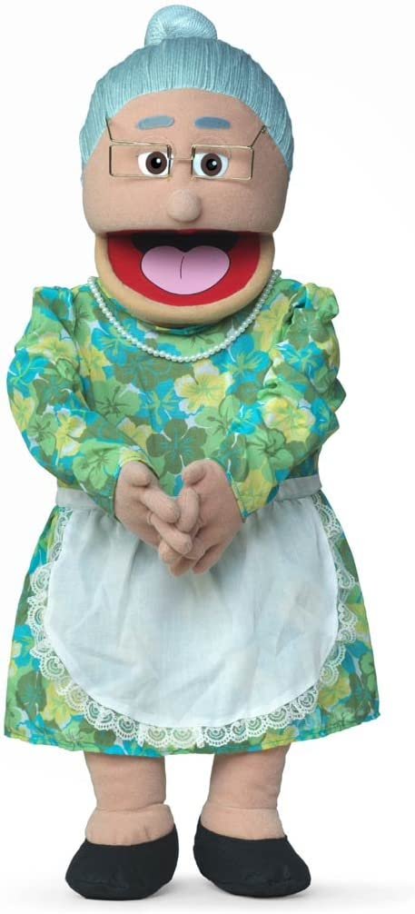 """Silly Puppets 30"""" Granny, Hispanic Grandmother, Professional Performance Puppet mit Removable Legs, Full oder Half Body"""
