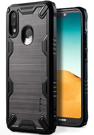 Ringke Funda Huawei P20 Lite, [Onyx-X] Agarre de TPU Resistente a Impactos [Protección de Servicio Pesado] Esquina Flexibles Antivibraciones ...