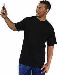 c6ebb230 Big Boy Bamboo Tall Crew Neck T-Shirt with Pocket for Men - Tall Short