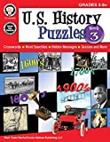 img - for U.S. History Puzzles, Book 3, Grades 5 - 8 book / textbook / text book