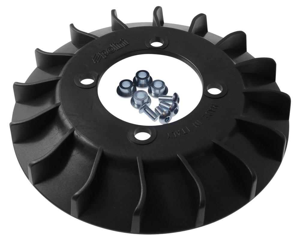 POLINI, rotore ventola di raffreddamento, per Vespa 50 Special, ET3 125, Primavera 125 per Vespa 50Special ET3125