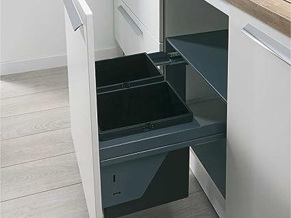 Wesco SortoMaxx 840607-60 Einbau Abfallsammler Abfalleimer ...