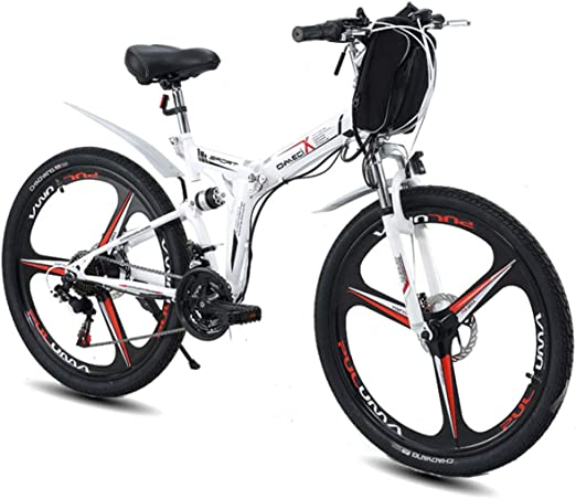 MERRYHE Bicicleta eléctrica Plegable Mountain Road E-Bike Fold ...