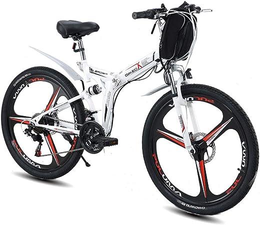 CAKG Bicicleta eléctrica de 26 Pulgadas Bicicleta de montaña E ...