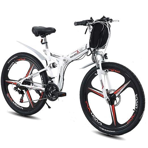 MERRYHE Bicicleta eléctrica Plegable Mountain Road E-Bike Fold ...