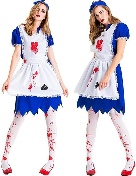 XIONGDA Disfraz de Cosplay de Fiesta de Halloween para Mujer ...