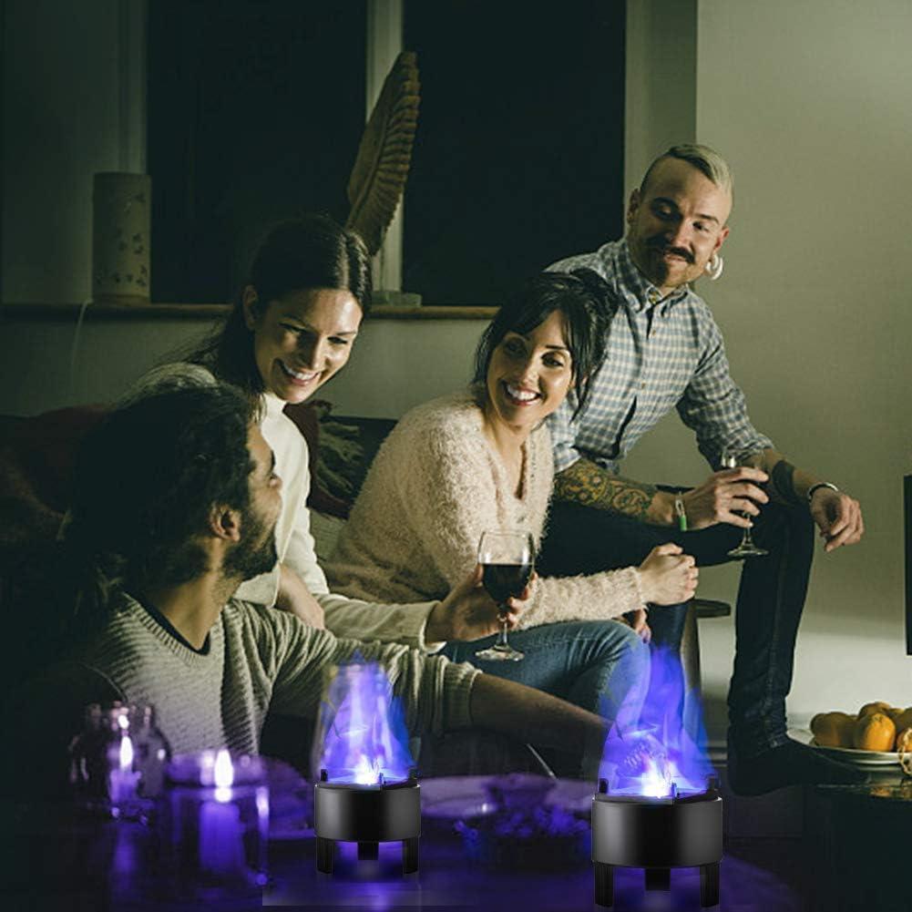 LED Flammenlicht Dynamisch Feuer Effektlicht H/änge simuliert Flamme Licht Blaues Licht