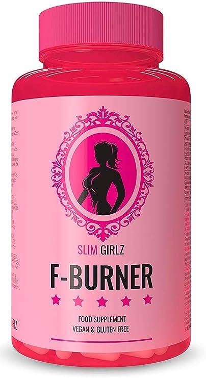Slim Girlz Fat-Burner | 60 Cápsulas Para Adelgazar | Quemador de Grasa Para Mujeres | 10 Ingredientes Activos Para Pérdida de Peso| Adelgazante Vegano ...