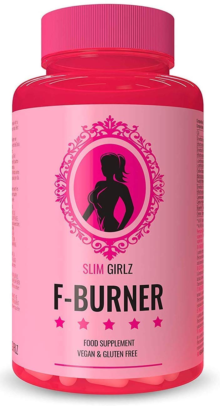 Slim Girlz F-Burner | Slimming Even Without Sport |Weight Loss for Women|No Stimulants|100% Natural Diet Pills |Dietary Supplement|100 Vegan Capsules