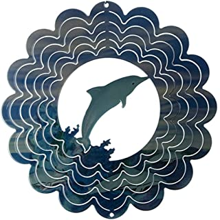 product image for Next Innovations Kaleidoscope Dolphin Wind Spinner