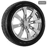 22 Inch Chrome Chevy Truck Silverado Tahoe Wheels Rims038; Tires CK375